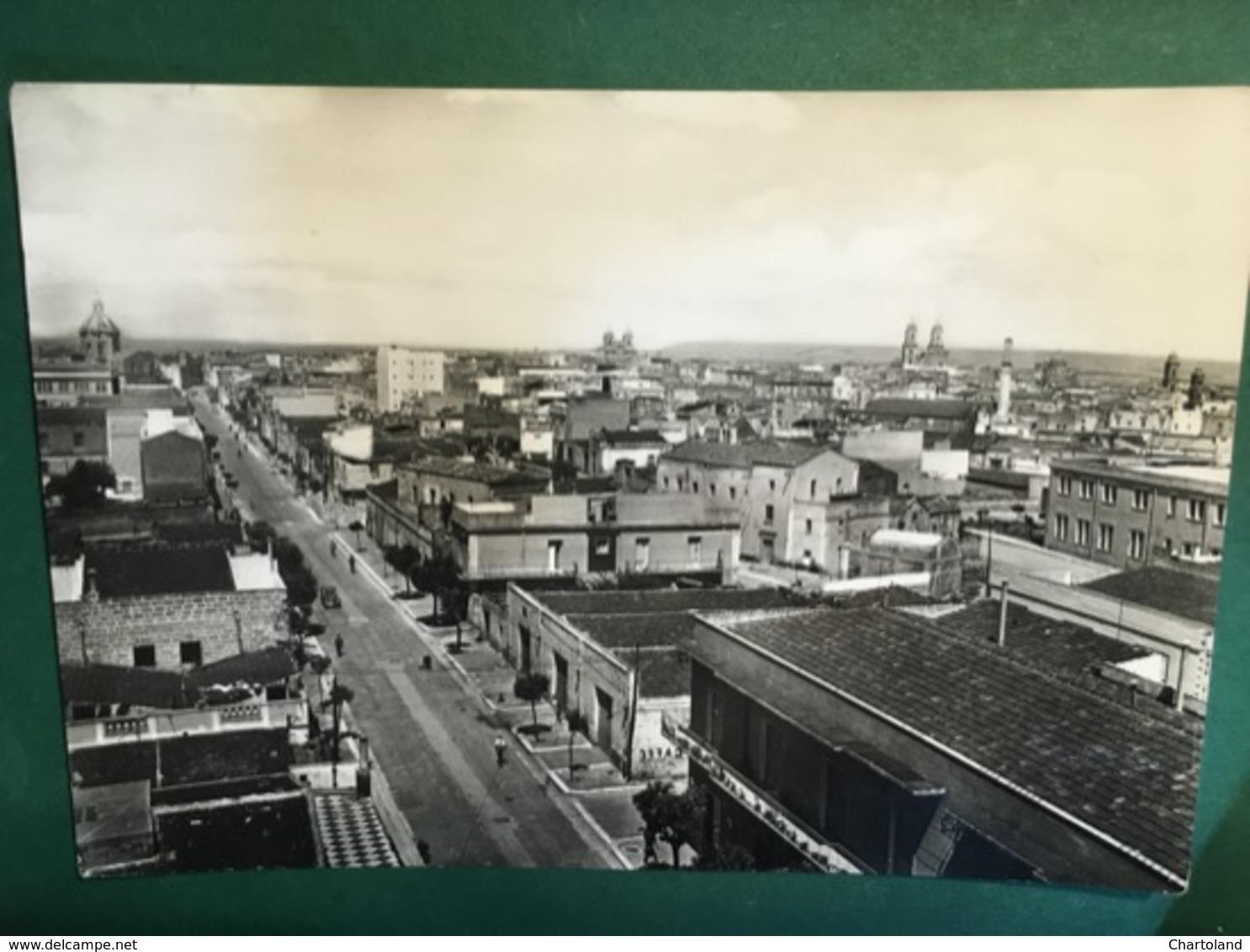 Cartolina Altamura  - Bari - Panorama - 1954 - Bari