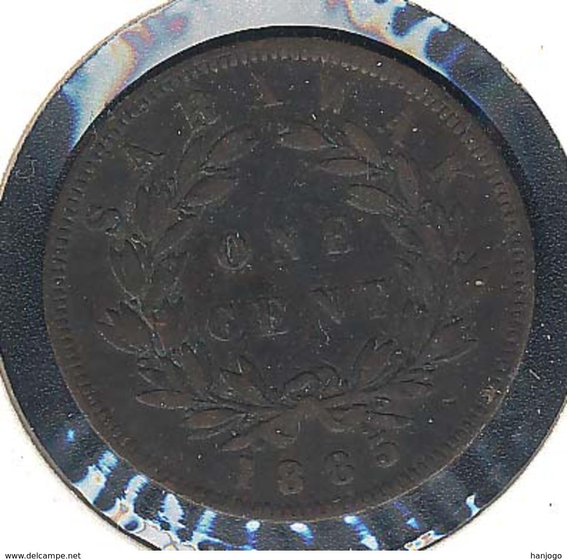 Sarawak, 1 Cent 1885 - Malaysie