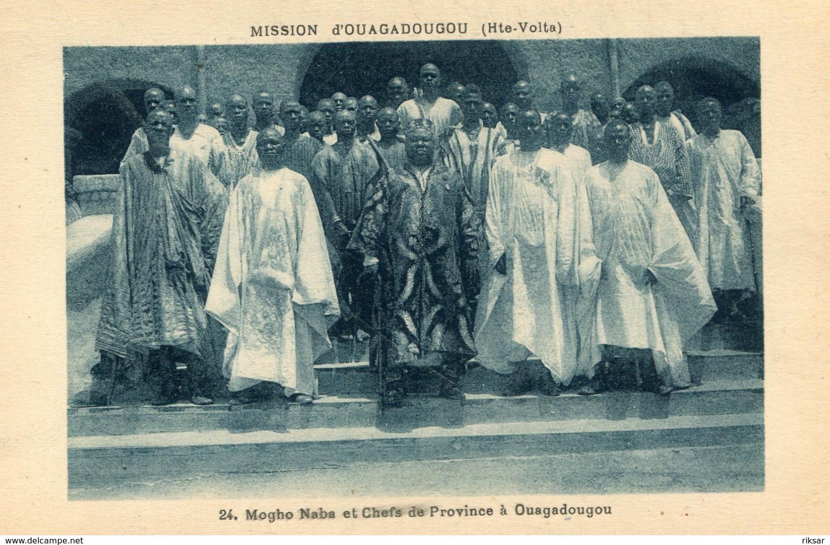 HAUTE VOLTA(OUAGADOUGOU) TYPE - Burkina Faso