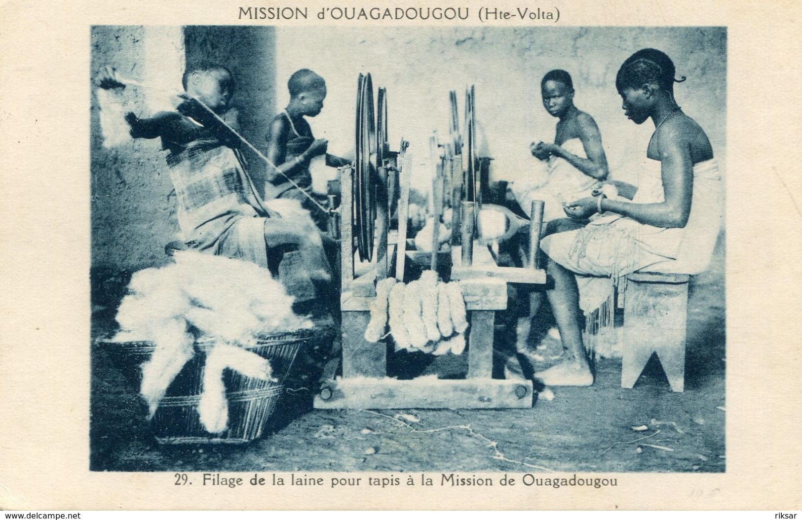 HAUTE VOLTA(OUAGADOUGOU) TYPE(FILEUSE) - Burkina Faso