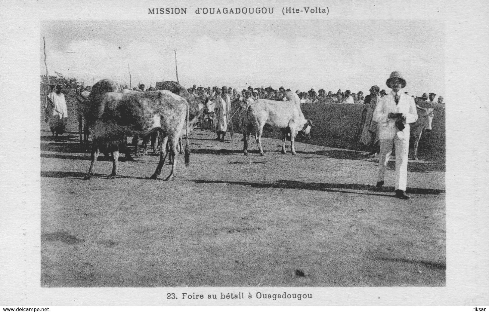 HAUTE VOLTA(OUAGADOUGOU) TYPE(FOIRE) - Burkina Faso
