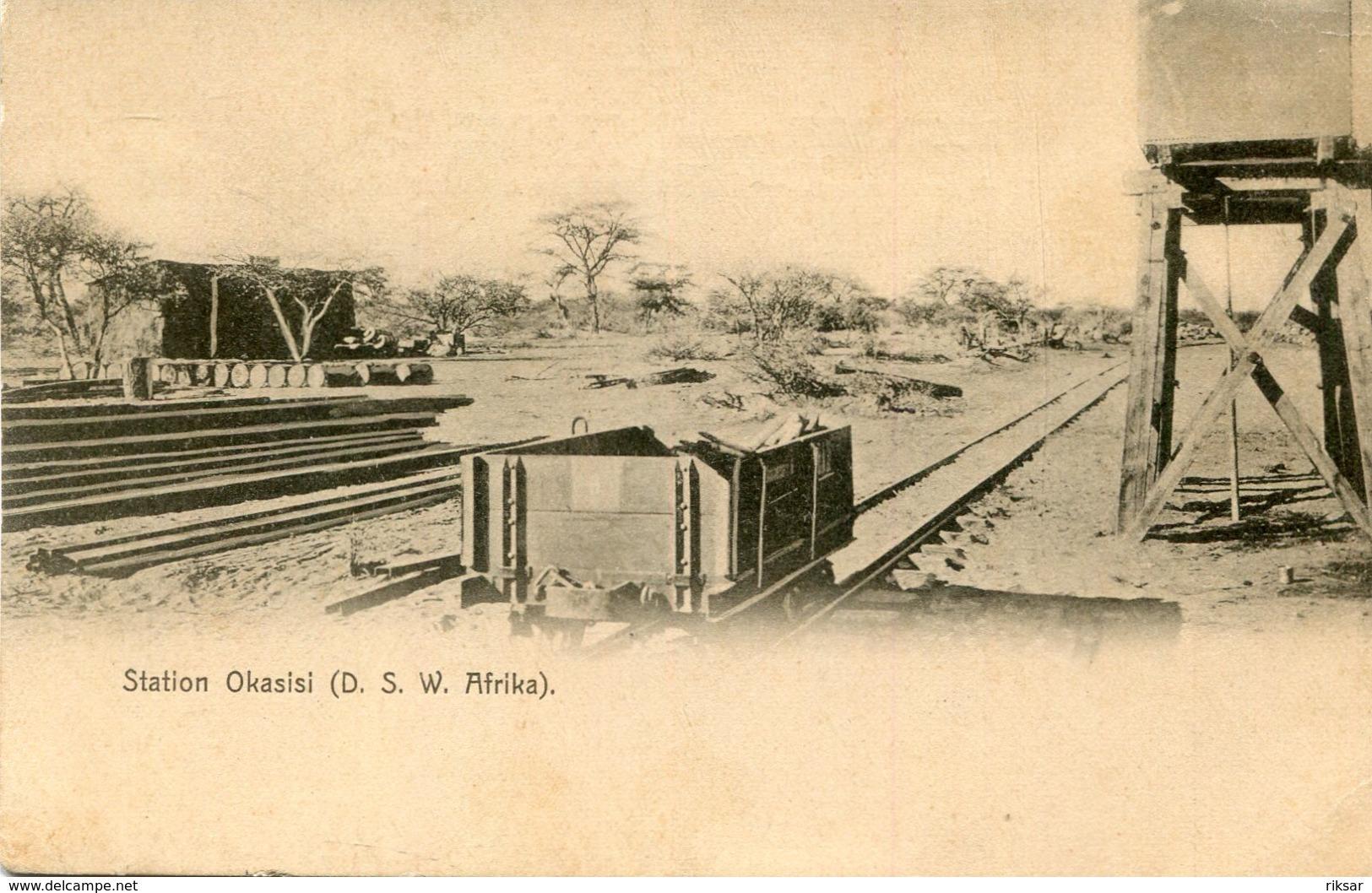 NAMIBIE(GARE) OKASISI(TRAIN) - Namibie