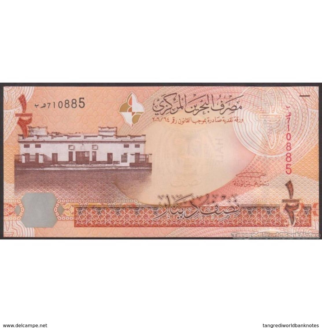 TWN - BAHRAIN 25 - ½ Dinar 2007 UNC - Bahrein