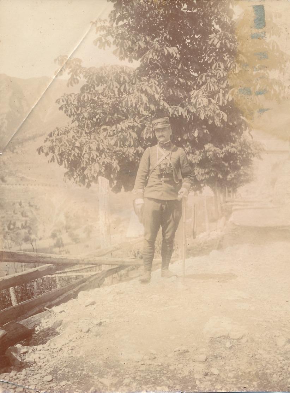 I47 - N° 70 - MILITARIA - Dans Les Alpes à Venanson (06) En 1913 Par Le Capitaine Hubert - War, Military