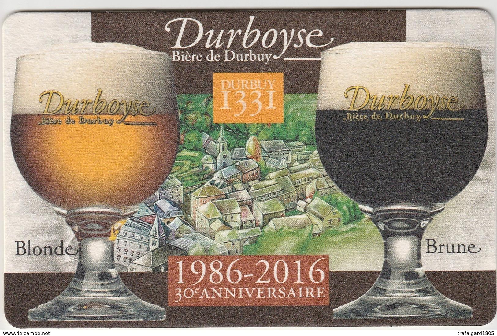 LA DURBOISE - Sous-bocks