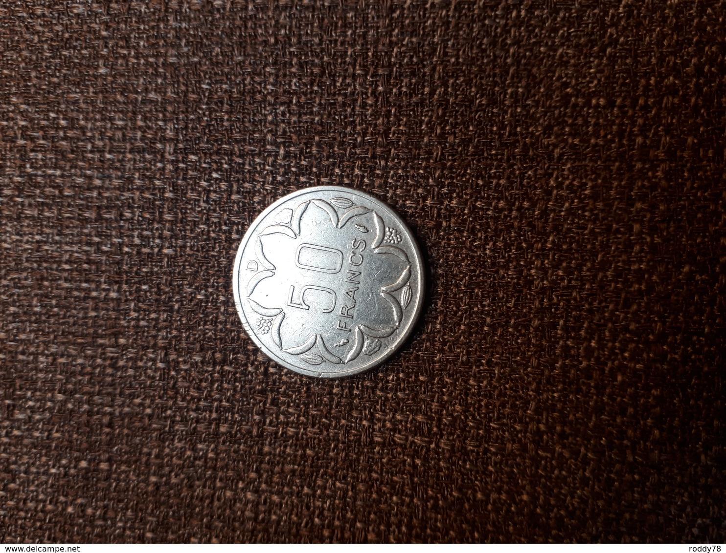Central African States - Afrique Centrale 50 Francs 1976 D - Monnaies