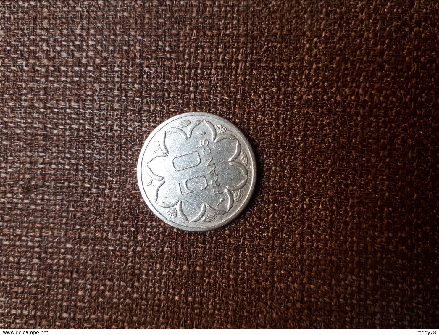 Central African States - Afrique Centrale 50 Francs 1980 A - Monnaies