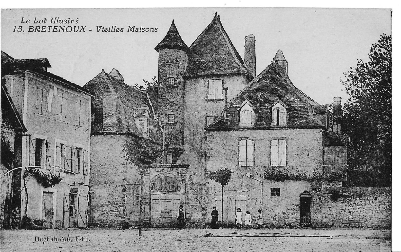 46 Bretenoux - Vieilles Maisons - Bretenoux