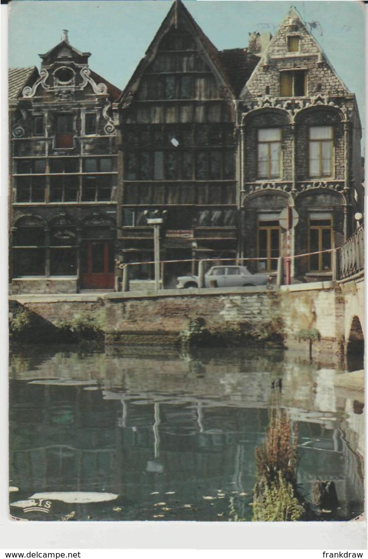 Postcard - Malines, Maison Du Diable - Posted But Stamp Removed Very Good - Cartes Postales