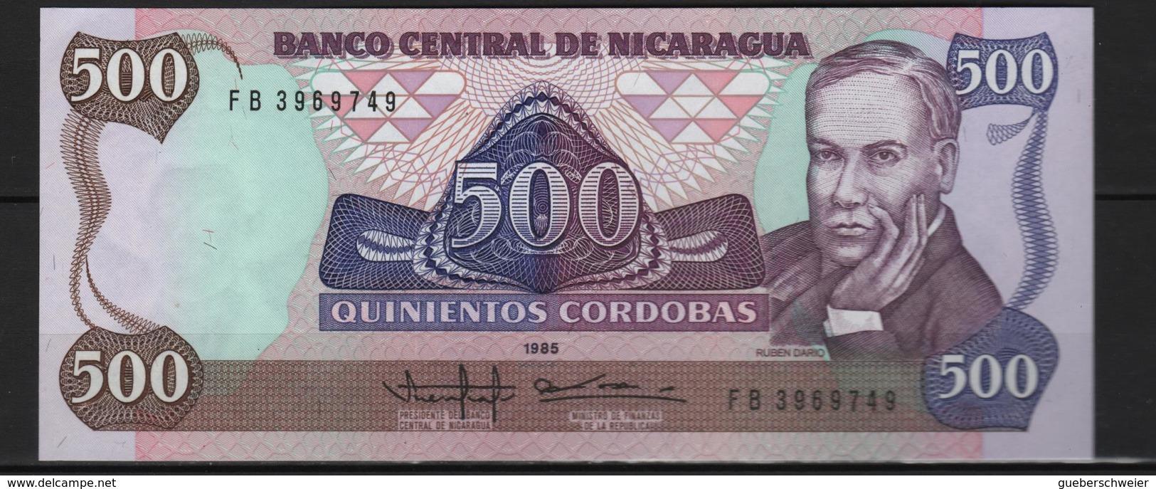 B 91 - NICARAGUA Billet De 500 Cordobas état Neuf - Nicaragua