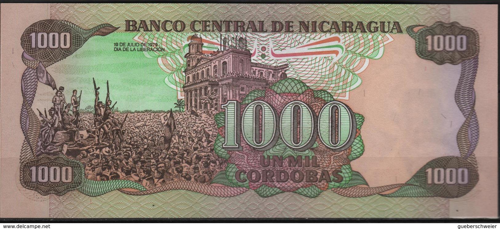 B 92 - NICARAGUA Billet De 1000 Cordobas état Neuf - Nicaragua
