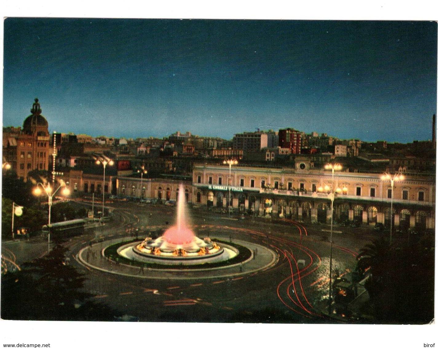 BARI DI NOTTE - PIAZZA ROMA - STAZIONE CENTRALE (BA) - Bari