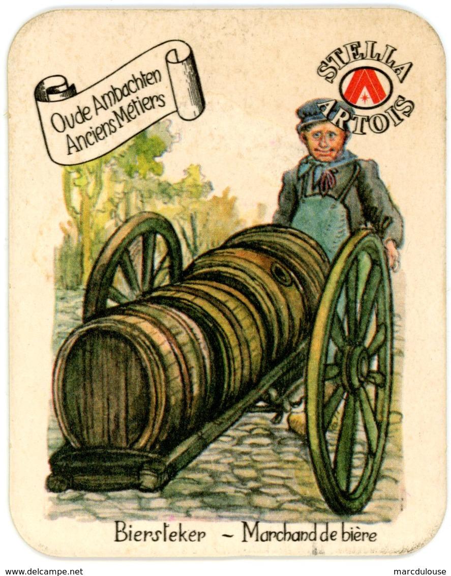 Stella Artois. Oude Ambachten. Anciens Métiers. Biersteker. Marchand De Bière. - Sous-bocks