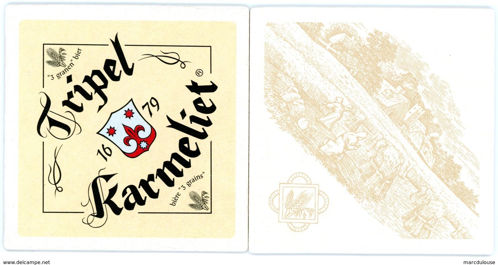 Tripel Karmeliet. 3 Granen Bier. Bière 3 Grains. 1679. - Sous-bocks