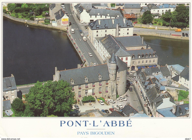 29 Pont L'Abbé Le Château Des Barons Du Pont (2 Scans) - Pont L'Abbe