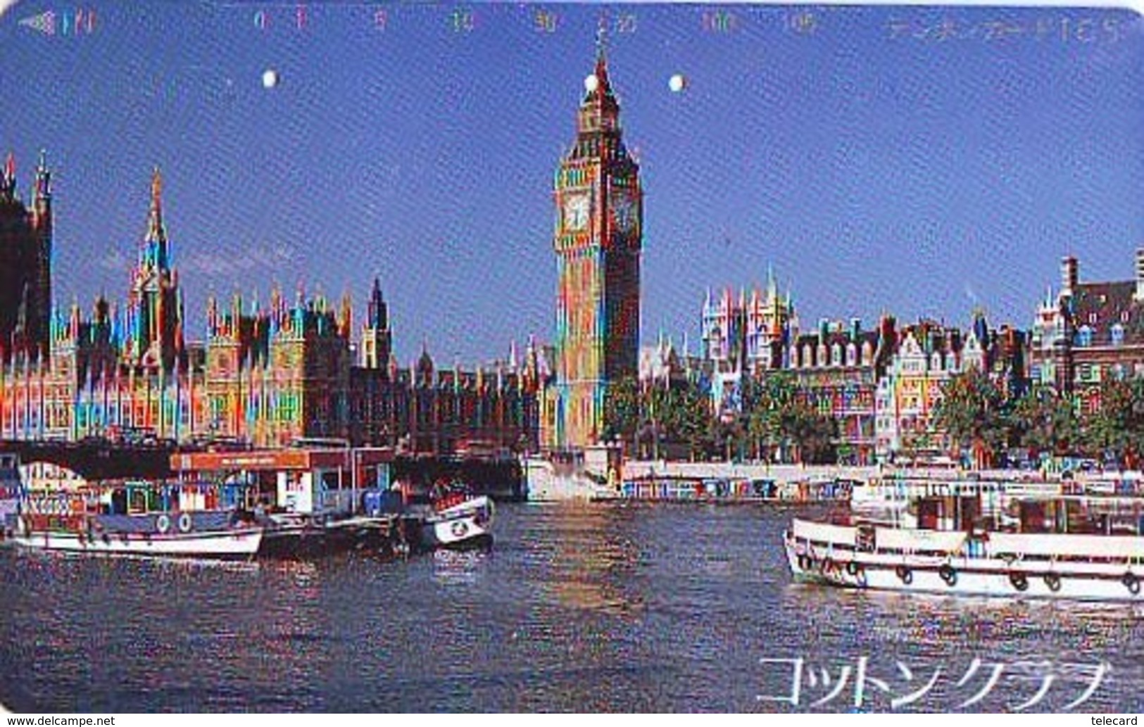 Télécarte Japon ANGLETERRE * BIG BEN  (310) GREAT BRITAIN Related * ENGLAND Phonecard Japan * - Paisajes