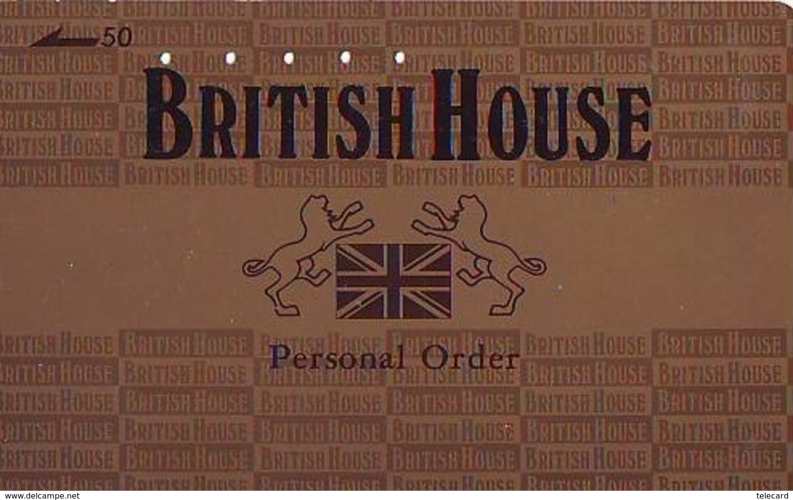 Télécarte Japon ANGLETERRE * ENGLAND *  BRITISH HOUSE  (325) GREAT BRITAIN Related *  Phonecard Japan * - Paysages