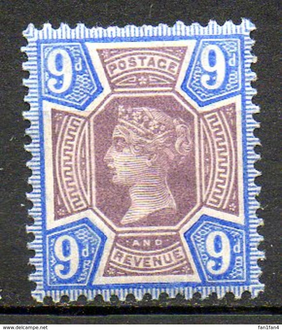 GRANDE BRETAGNE - 1887-1900 - N° 101 - 9 D. Brun Et Violet-brun - (Cinquantenaire Du Règne De Victoria) - Ungebraucht
