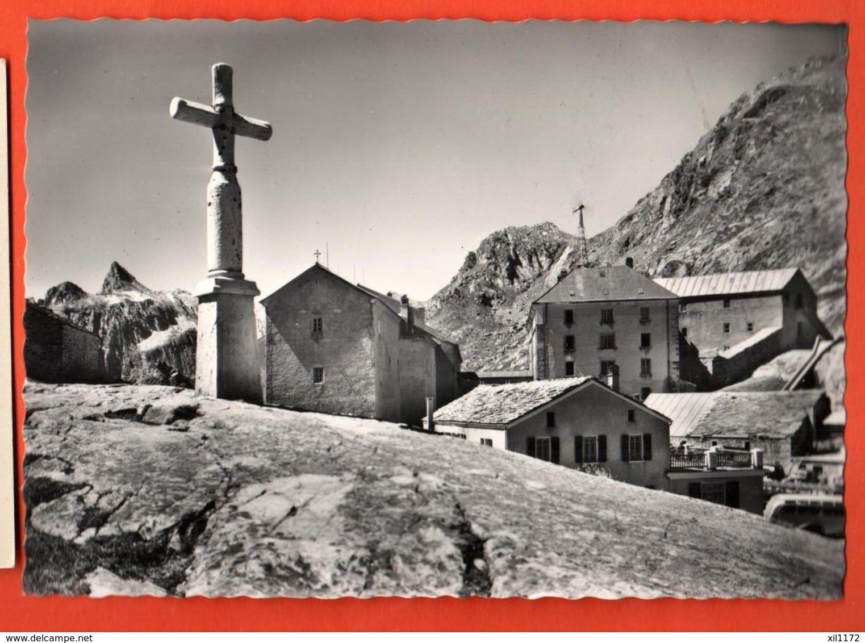 VAU-27 Gran St Bernardo Grand Saint-Bernard Frontera Svizzero-Italia. Grand Format. Non Ha Viaggiata - Unclassified