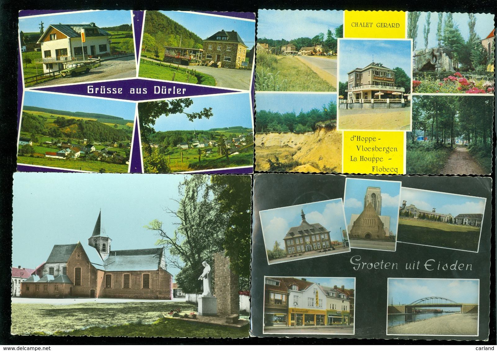 Beau Lot De 60 Cartes Postales De Belgique  Gr. Format En Couleurs  Mooi Lot Van 60 Postkaarten Van België Groot Formaat - 5 - 99 Cartes