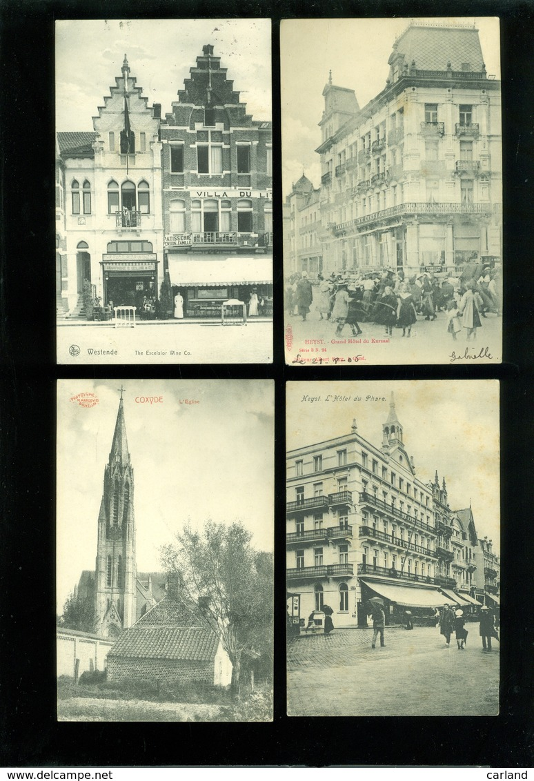 Très Beau Lot De 20 Cartes Postales De Belgique  La Côte   Zeer Mooi Lot Van 20 Postkaarten Van België Kust  - 20 Scans - 5 - 99 Cartes