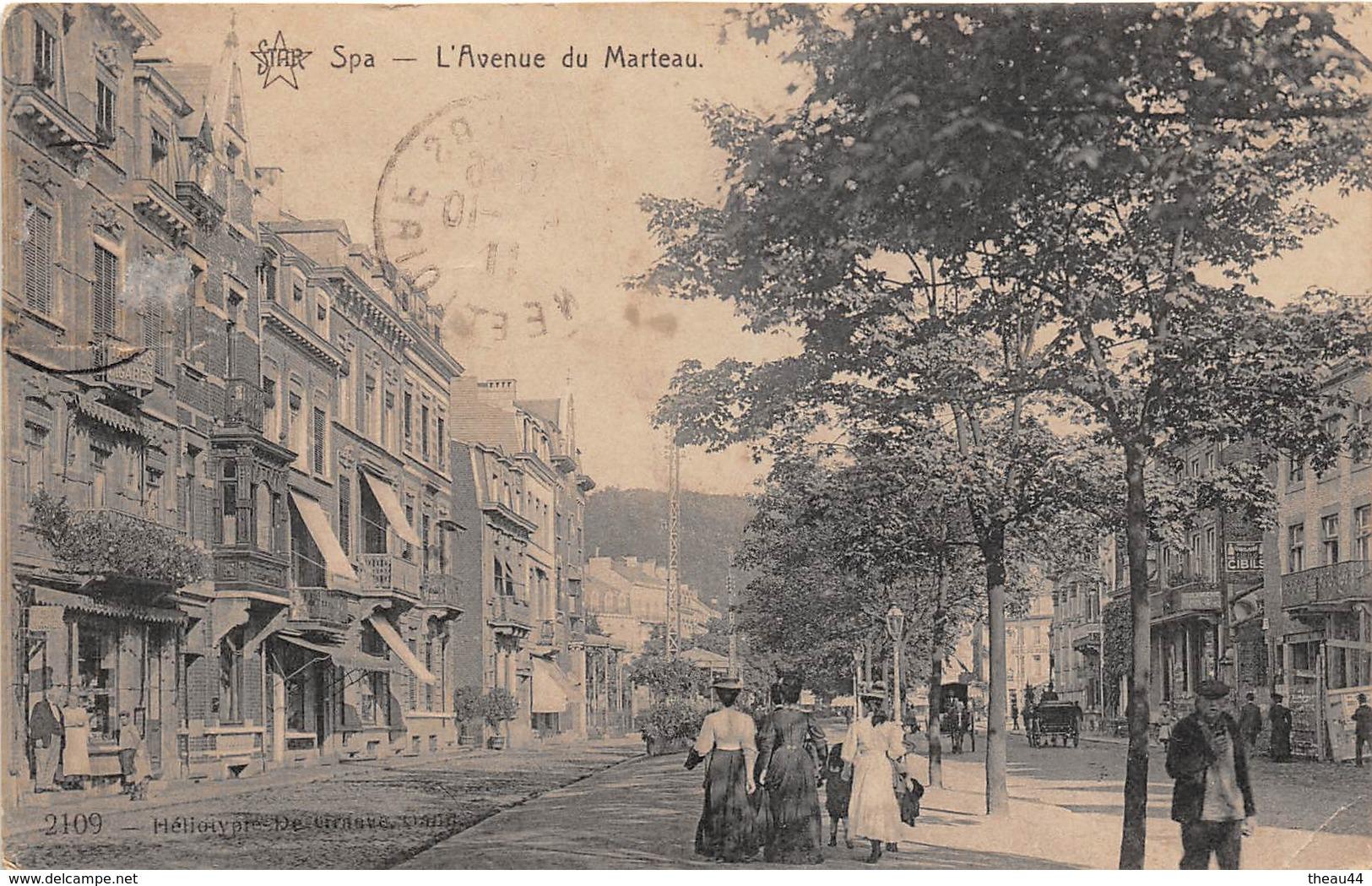 ¤¤  -  BELGIQUE    -    SPA    -   L'Avenue Du Marteau    -  ¤¤ - Spa