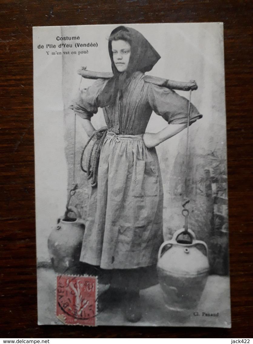 L14/30 L'ile D'Yeu. Costume - Ile D'Yeu