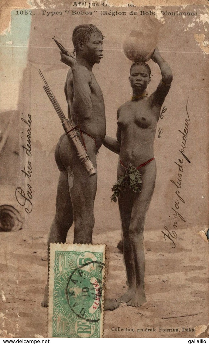 TYPES BOBOS REGION DE BOBO DIOULASSOI - Burkina Faso