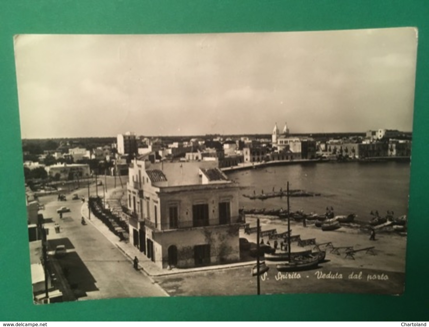 Cartolina S.Spirito - Veduta Dal Porto - 1963 - Bari