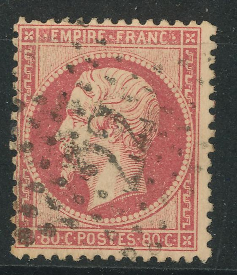 N°23 NUANCE ET OBLITERATION. - 1862 Napoléon III