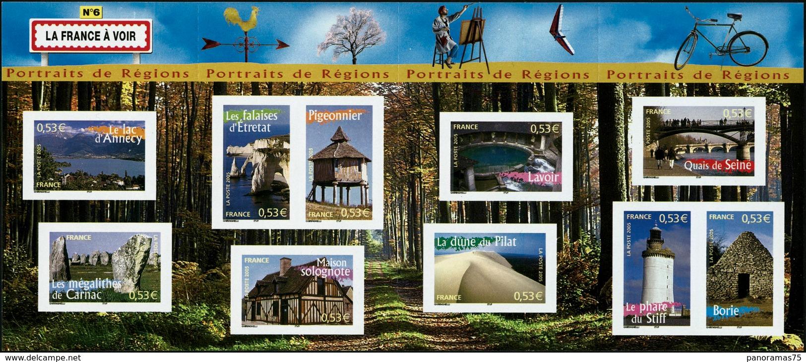 ** N°89 Le Bloc Portrait Des Régions ND, Très RARE ( Cote Maury) - TB - Blocs & Feuillets