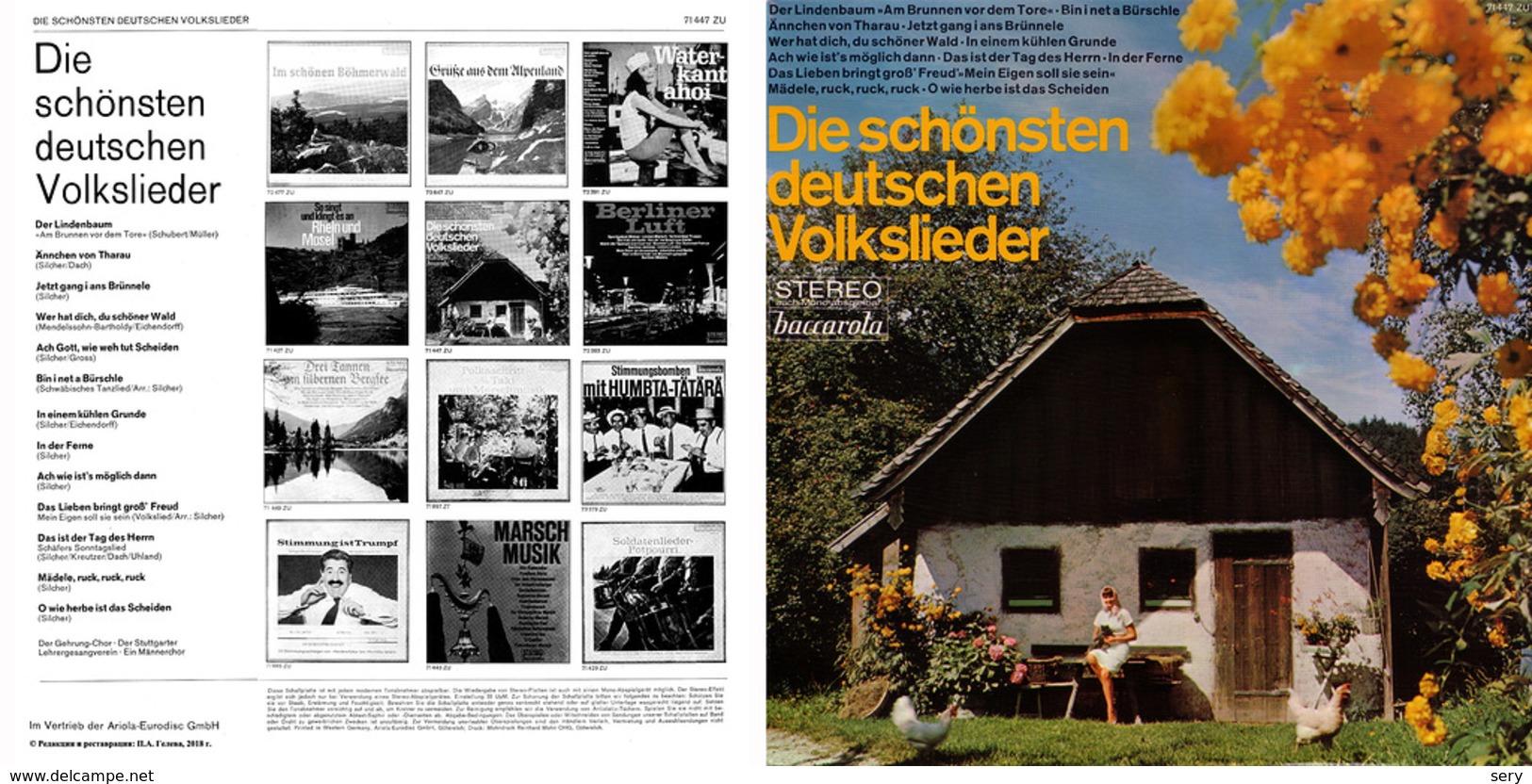 Superlimited Edition CD  Der Gehrung-Chor. DIE SCHÖNSTEN DEUTSCHEN VOLKSLIEDER. - Country & Folk