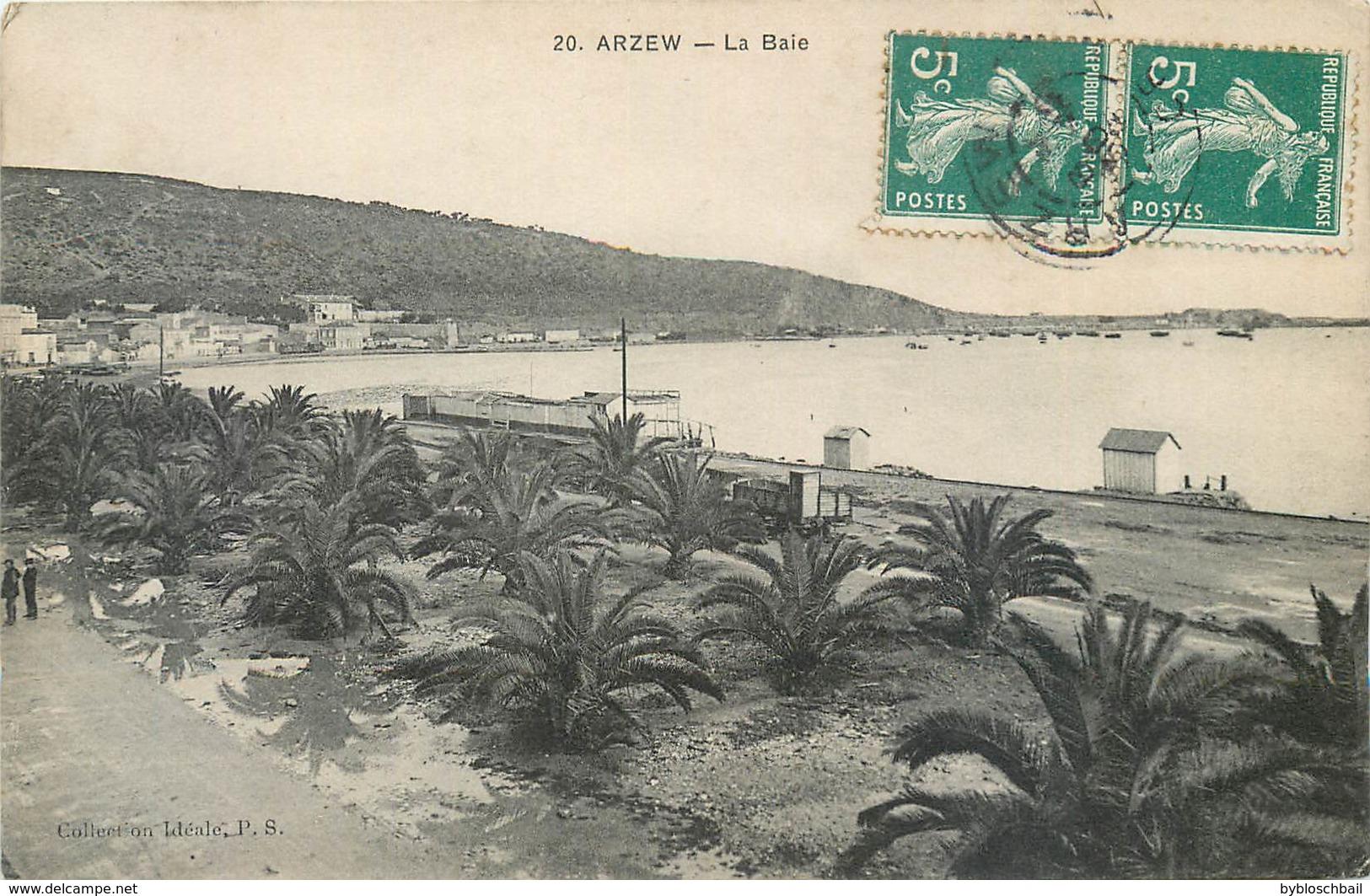 CPA Algérie Paysage Arzew La Baie - Altre Città