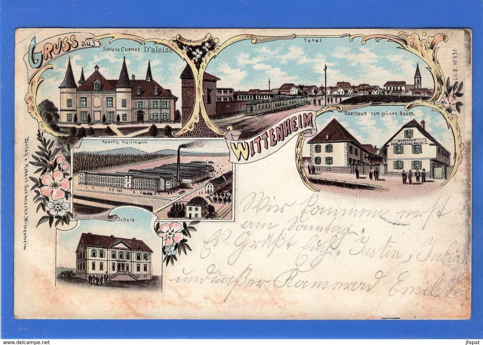 68 HAUT RHIN - Gruss Aus WITTENHEIM, Pionnière - Wittenheim