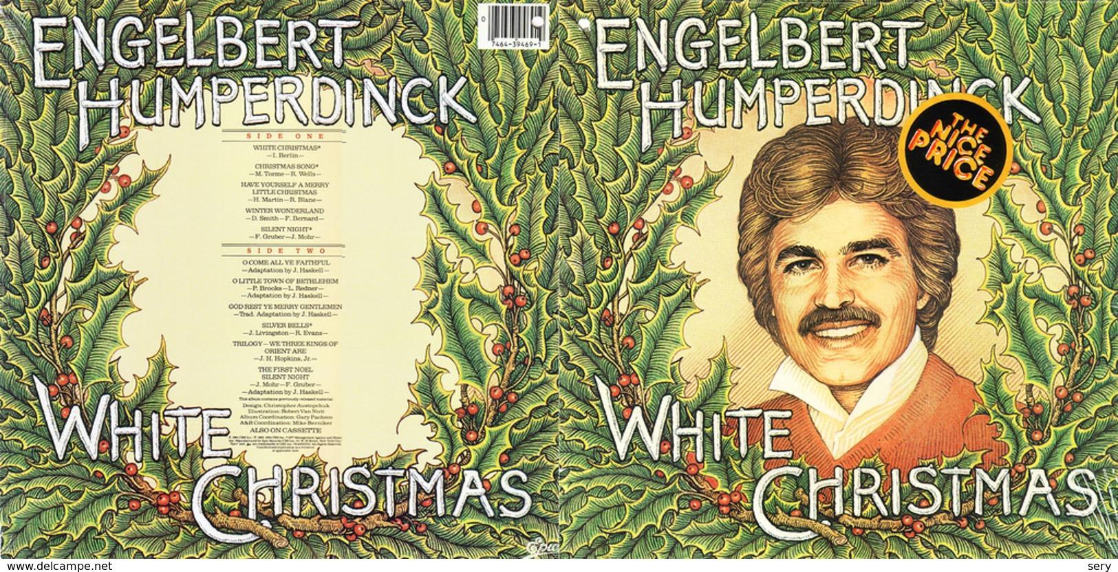 Superlimited Edition CD Engelbert Humperdinck. WHITE CHRISTMAS. - Weihnachtslieder