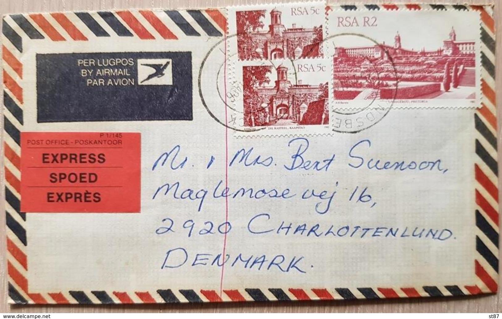 RSA Durban Denmark - South Africa (1961-...)