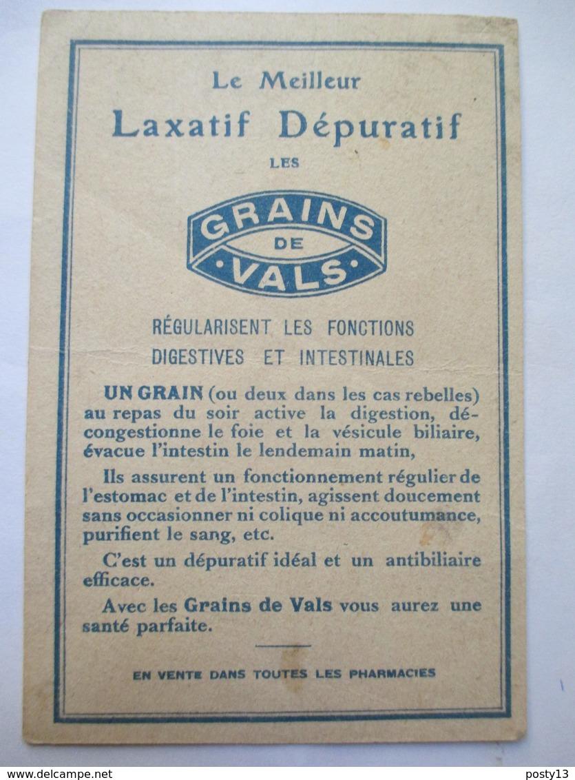 Chromos  GRAINS De VALS  -  Laxatif Dépuratif - TBE - Vieux Papiers