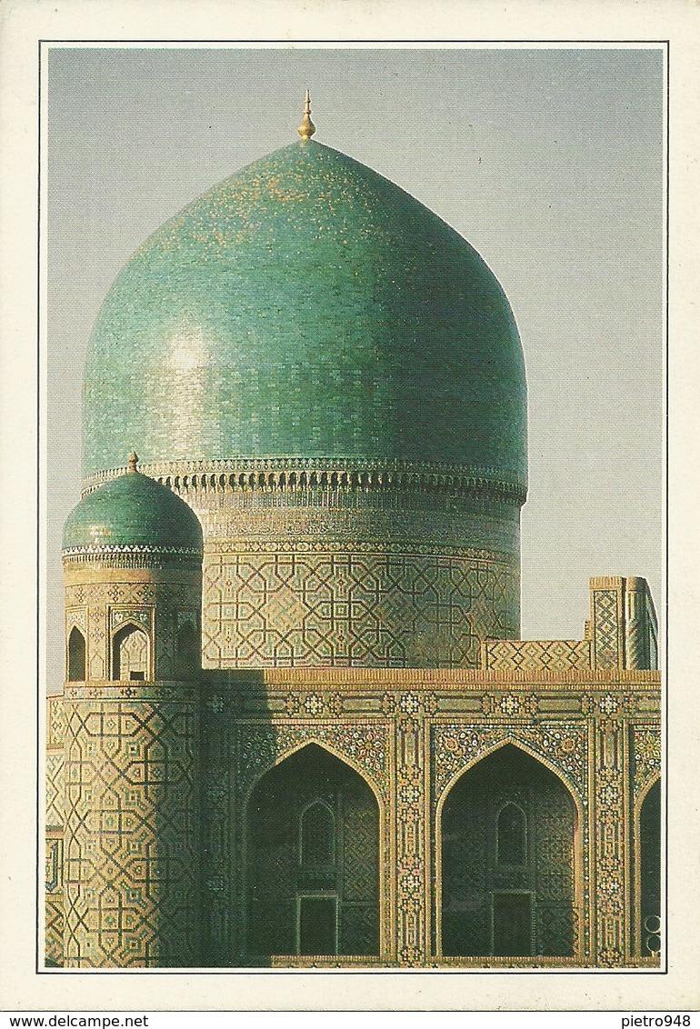 "Samarcanda, Samarkand (Uzbekistan) Place Registan, Le Blu Lapis Du Dome De La Madrasa ""Tilla-Kari"" - Uzbekistan"