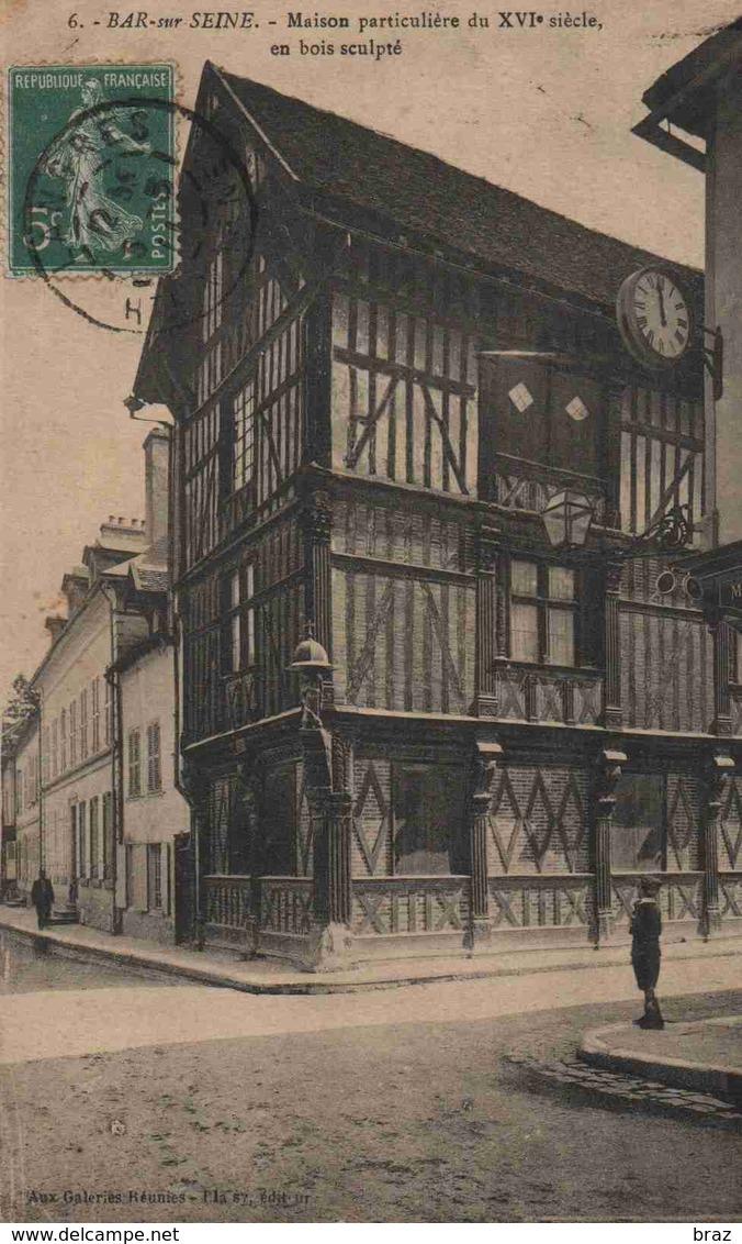 CPA  Bars Sur Seine - Bar-sur-Seine