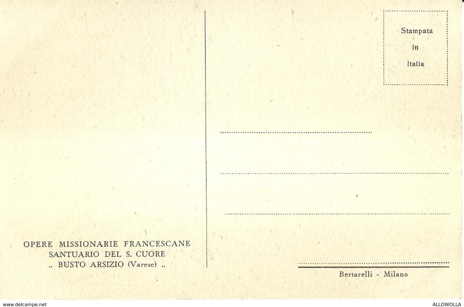 """2540 """" IL MIRACOLO DELLA BROCCA SPEZZATA - D. MASTROIANNI-OP. MISS. FRANCESCANE DEL S. CUORE  """" CART. ORIG. NON SPED. - Sculture"""