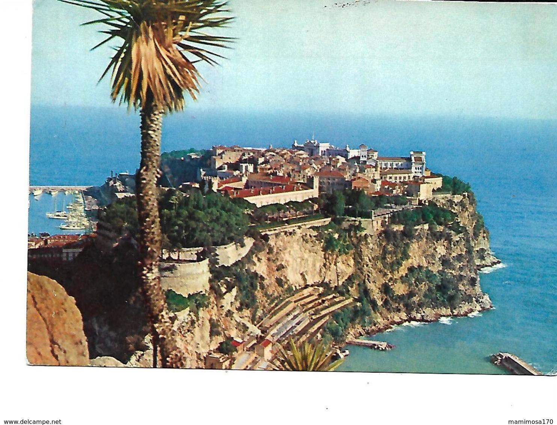 Europe-MONACO-Une Vue Du Rocher-PUB.Collection AMORA-TIMBRE-Obliteration-1960 - Monaco
