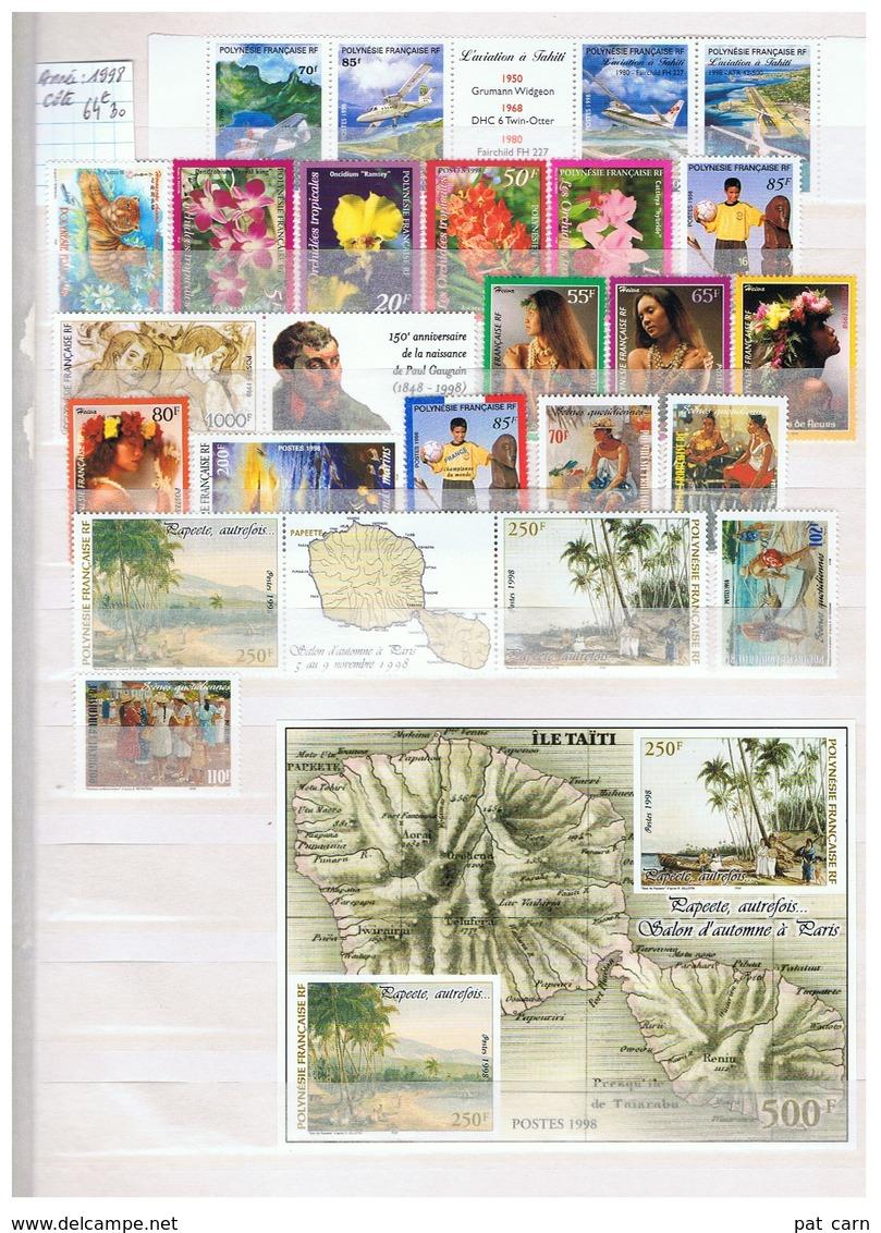 Année 1998 Neuve N** Près De 65€ De Cote - Polynésie Française