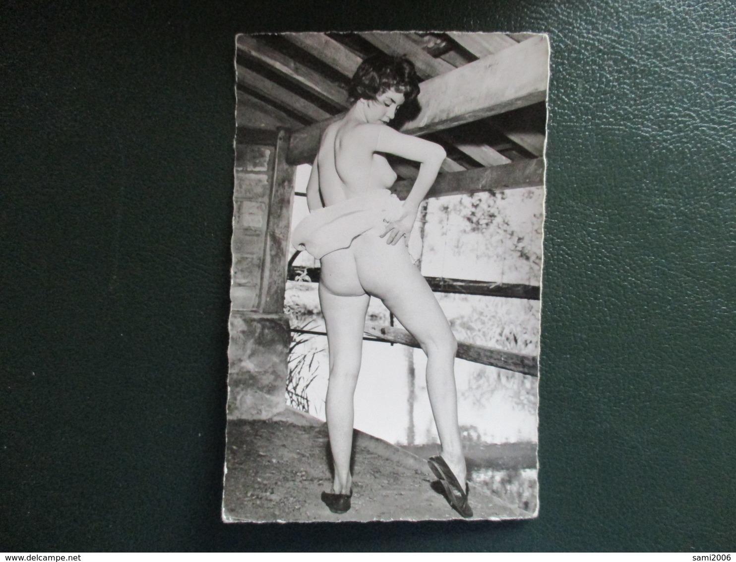 PHOTO PIN UP VINTAGE FEMME NUE - Beauté Féminine (1941-1960)