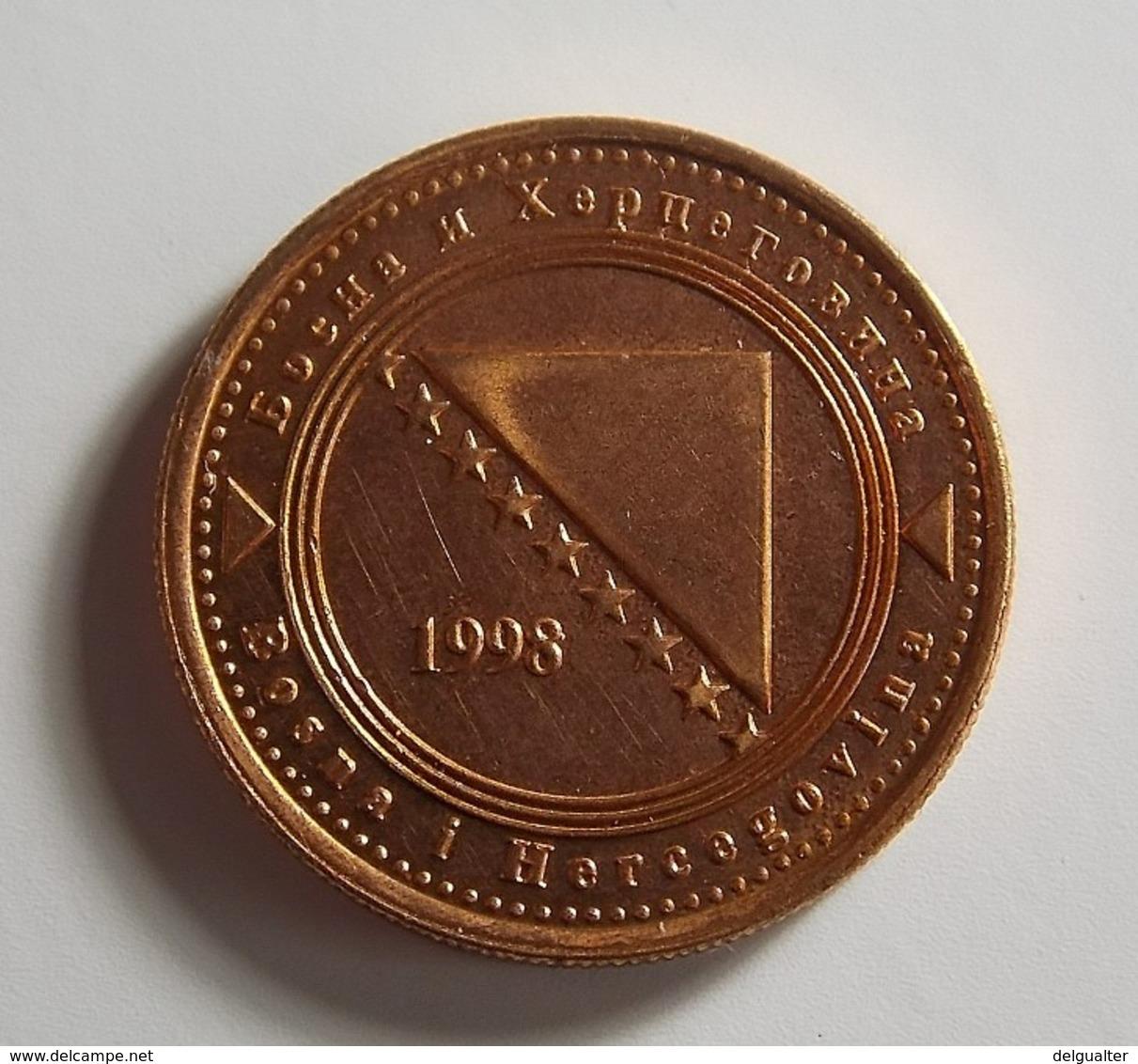 Bosnia And Herzegovina 20 Feninga 1998 Varnished - Bosnia And Herzegovina