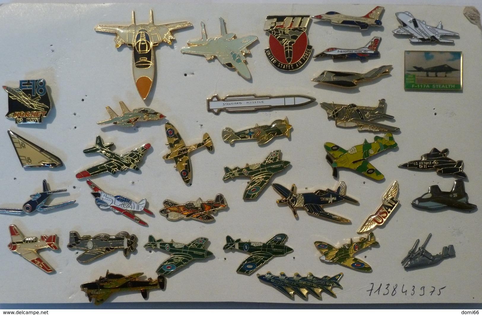 Pin's  Avions - Lots