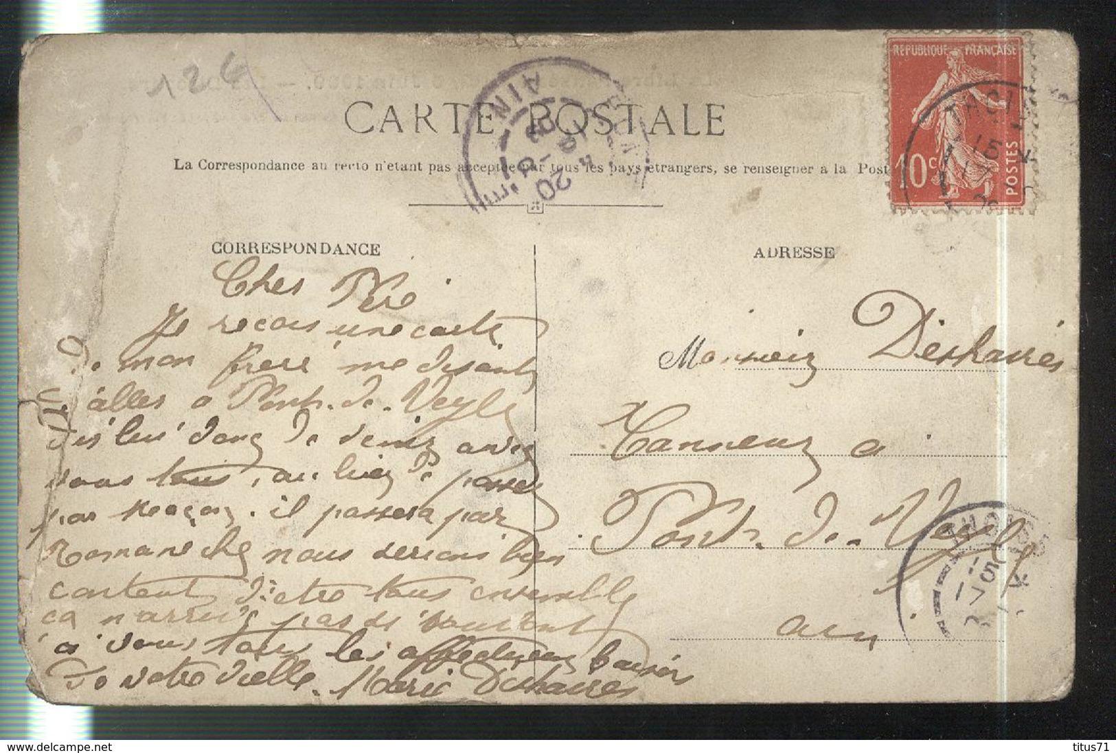 Cpa Ars - La Libre Pensée à Ars , 6 Juin 1909 - Les Discours - Circulée 1909 - Etat Moyen , Voir Photo - Ars-sur-Formans
