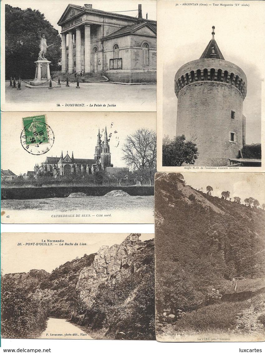 LOT 500 CPA ET CPSM(petit Format) DEPT ORNE (61). AUCUNE CARTE DE BAGNOLES DE L' ORNE, ALENCON, ET TESSE L/M . DROUILLE - Cartes Postales