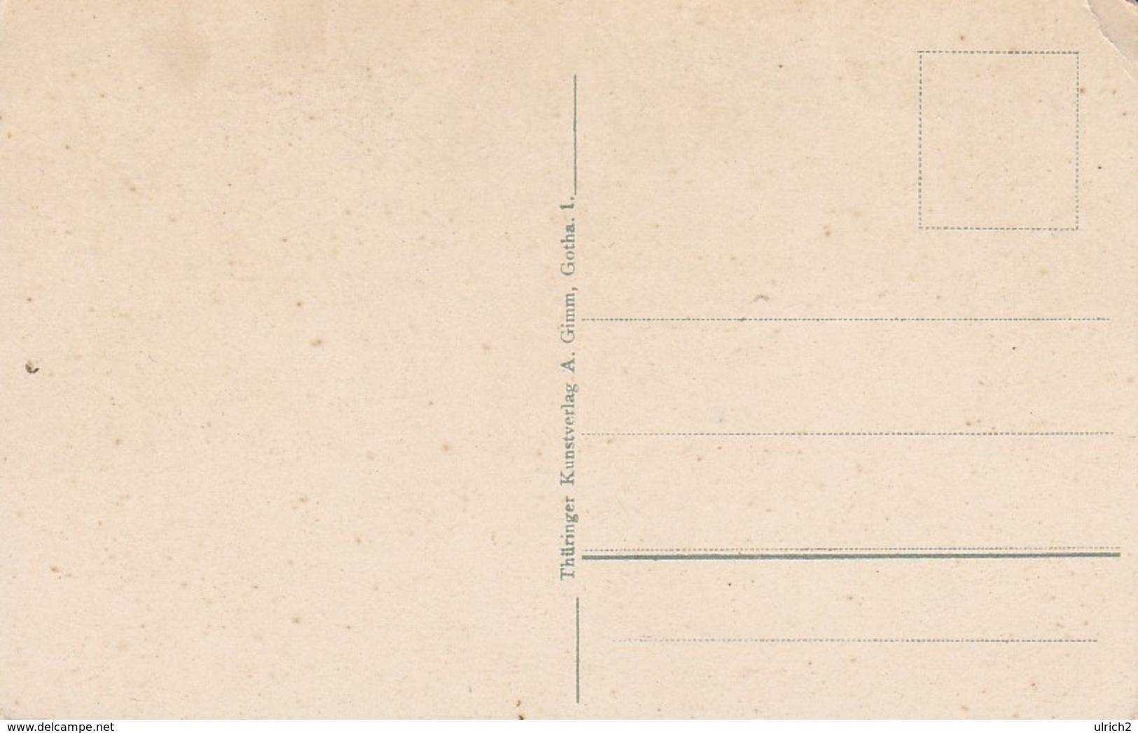 AK Gruss Aus Thüringen - Musikanten - Musikinstrumente Gitarre Geige - Ca. 1920 (39260) - Europe