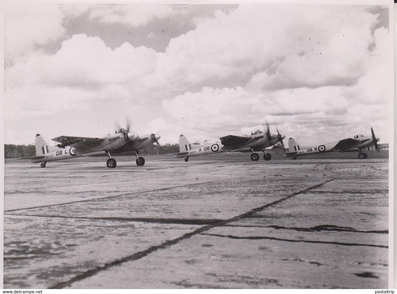 De Havilland DH  HORNET  TENGAH SINGAPORE CHINA  SOUTHERN MALAYA   21 * 16  Cm - Aviación