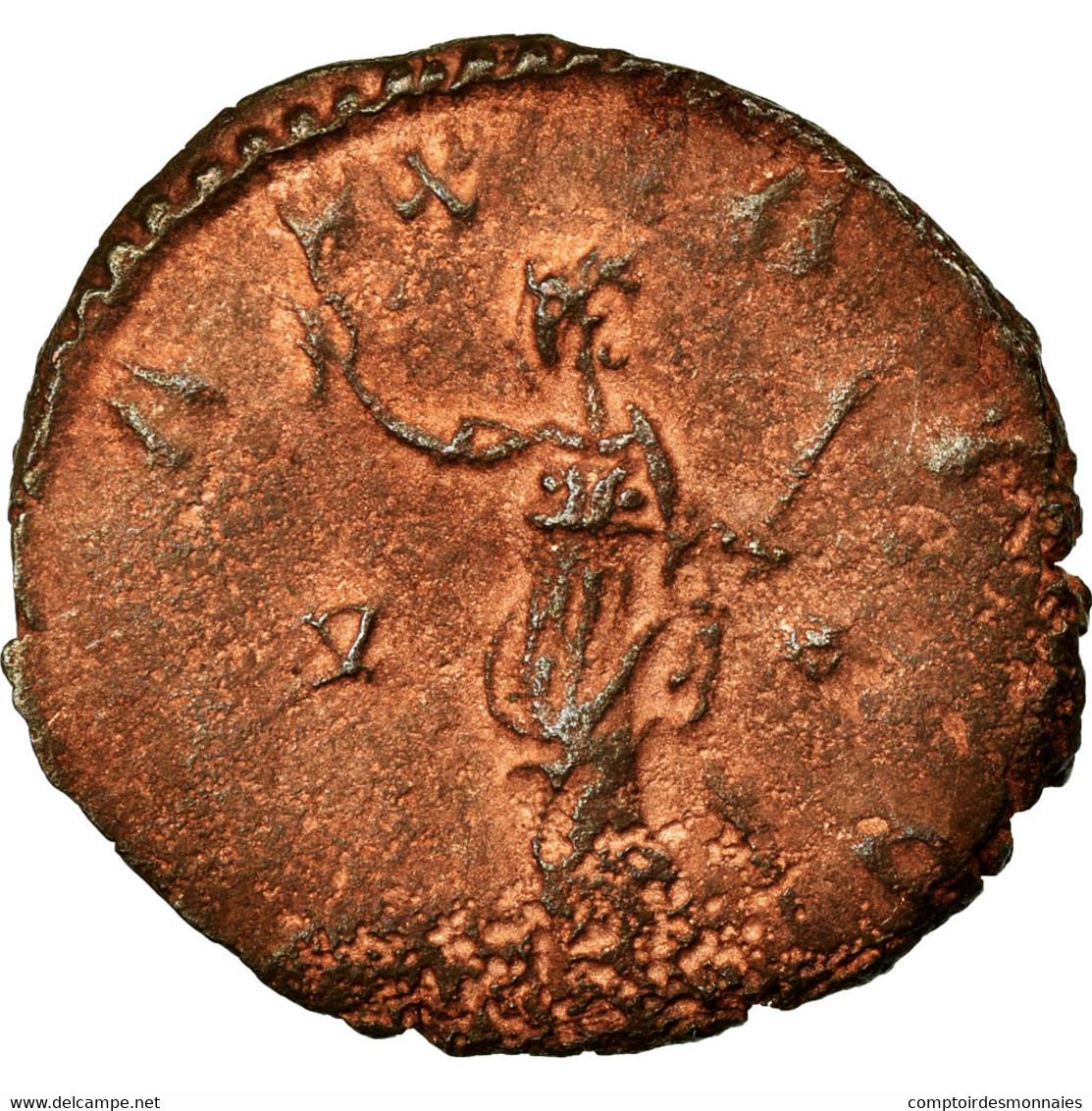 Monnaie, Victorin, Antoninien, 270-271, Trèves Ou Cologne, TTB, Billon, RIC:118 - 5. L'Anarchie Militaire (235 à 284)